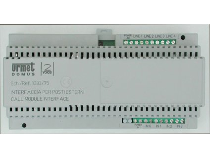Interface URMET 1083/75