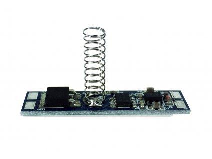 Dotykový stmívač pro LED pásky v profilu - 6A - 72W