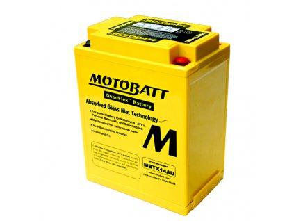 Baterie Motobatt MBTX14AU 16,5Ah, 12V, 4 vývody