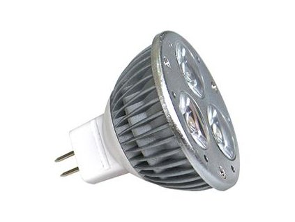 Žárovka POWER LED POWER MR16 3x1W-WW