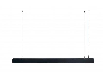 LED ZÁVĚSNÉ svítidlo BRG5371 - 40W - 120cm - 3400Lm - černé