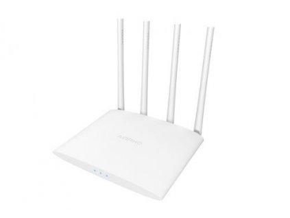 AIRPHO AR-W400 wifi AC 1200Mbps AP/router, 2xLAN, 1xWAN ,4x fixní antena 5dB