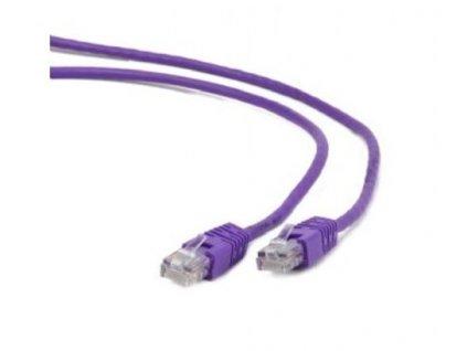 KABEL PATCH FTP kat. 6, 0.25m fialový s ochranou stíněný GEMBIRD
