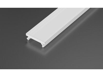 Mléčný difuzor 1m pro LED profily - P01 - P02 - P03