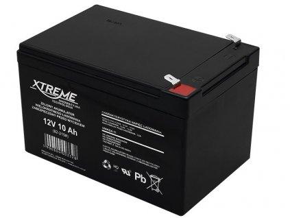 Baterie Xtreme 12V/10Ah gelový akumulátor