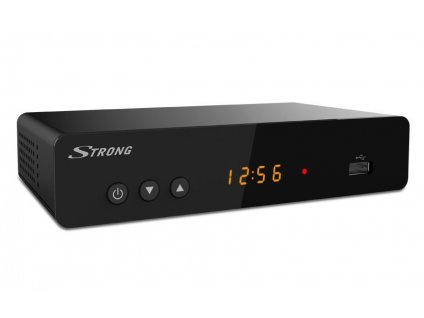 STRONG SRT8222 DVB-T2, TWIN TUNER HEVC H.265, LAN