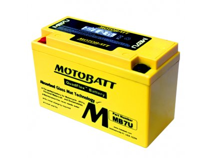 Baterie Motobatt MB7U 6,5Ah, 12V, 2 vývody