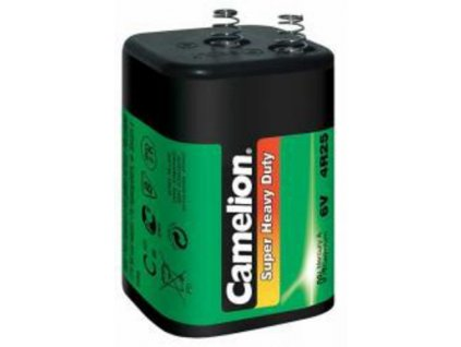 CAMELION SUPER HD 4R25 1ks baterie zinková 6V 1ks