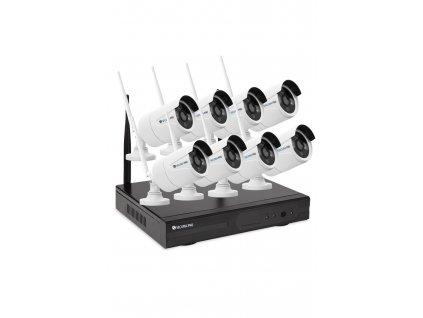 Kamerový set Securia Pro WIFI8CHV1-W NVR + 8 WIFI kamery 1 MPx, bílá