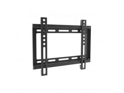 """SBOX PLB-2222F pevný nástěnný držák pro LCD 23-43"""" (58-109cm), do 35kg, VESA od 75x75 do 200x200, černý (fixed wall mount)"""