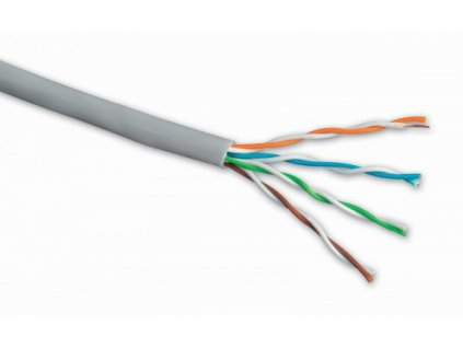 Instal. kabel Solarix CAT5e UTP PVC 305m/box drát