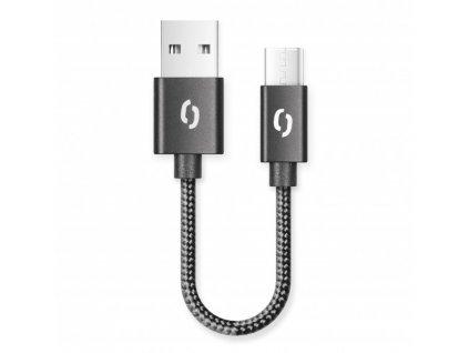 ALIGATOR PREMIUM 2A kabel, 50cm USB-C, černý