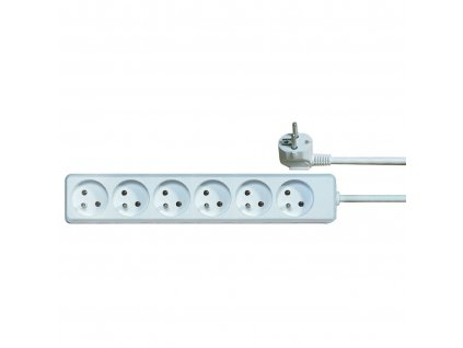 Kabel PremiumCord prodlužovací přívod 230V 2m 6 zásuvek