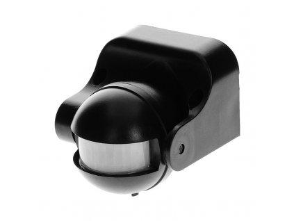 ORNO Snímač pohybu 180°, IP44, dosah 12 m, vertikální nastavení, barva černá