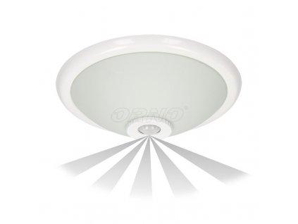 ORNO TERRAL svítidlo se snímačem pohybu 360°, E27, 2x40W, IP20