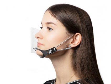 Ochranný štít MINI na nos i ústa
