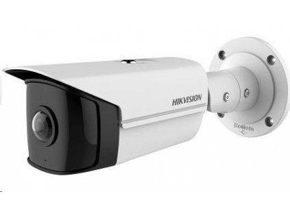 HIKVISION IP kamera 4Mpix, H.265+, 25sn/s, obj. 1,68mm (180°), PoE, IR 20m, IR-cut, WDR 120dB, analyt, MicroSD, IP66