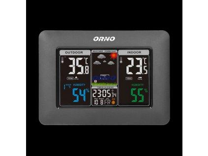 Bezdrátová meteorologická stanice ORNO OR-SP-3101/B s měřením teploty a vlhkosti