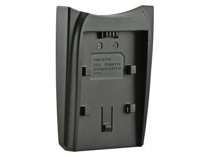 Redukce Jupio k Single nebo Dual chargeru pro Sony NP-FP50 / NP-FH50 / NP-FV50