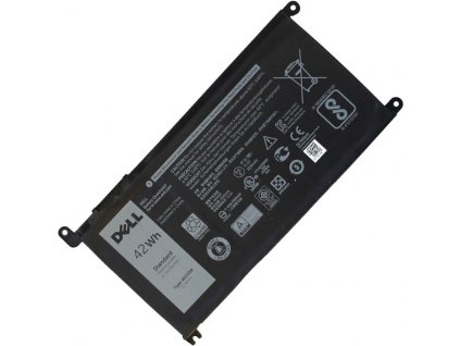 Dell originální baterie Li-Ion 42WH 3CELL FW8KR / Y3F7Y / WDX0R / FC92N / 3CRH3