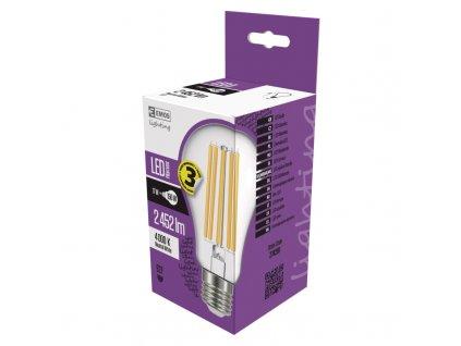 EMOS LED FLM A67 17W(150W) 2452lm E27 NW A++