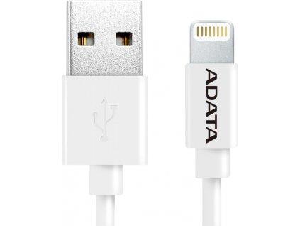 ADATA Lightning kabel MFi 1m bílý