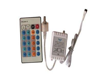 LED kontrolér Premium Line lighting dálkový ovladač s IR - 24 tlačítek