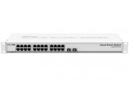 Switch Mikrotik CSS326-24G-2S+RM 24xGLan, 2x SFP+, rack