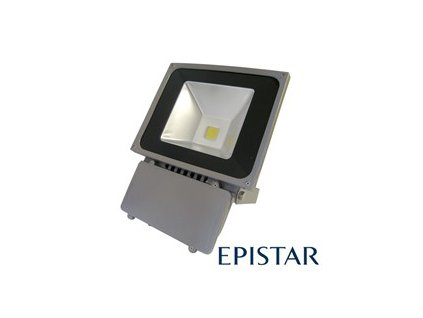 LED reflektor venkovní 70W/6400lm EPISTAR, MCOB, AC 230V, šedý