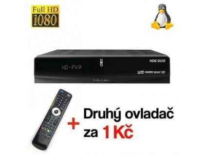 DREAMSKY HD6 DUO DVB-S2 HbbTV, IPTV 2xCA 2xCI+