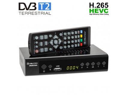 CABLETECH URZ0336A, DVB-T2, H.265 HEVC, scart