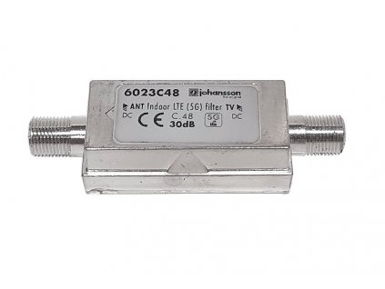 Filtr LTE 5G Johansson 6023C48, (5-694 MHz)