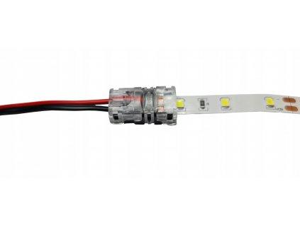 Spojka pro LED pásky (kabel - pásek) 10mm RGB FIX - IP65