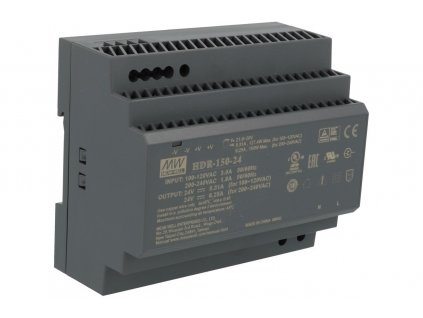 Mean Well Zdroj na DIN 24V HDR-150-24