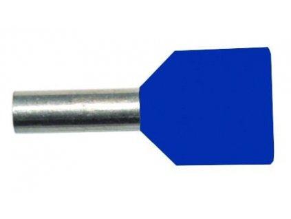 PROTEC Dutinka PAEH 2,5/10mm lisovací modrá dvojitá
