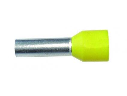 PROTEC Dutinka PAEH 1,0/ 8mm lisovací žlutá
