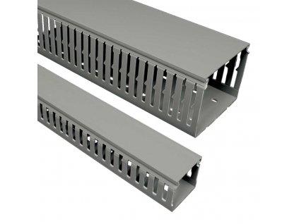 KOPOS Kanál RK 60x80 rozvaděčový včetně víka, barva šedá, délka 2m