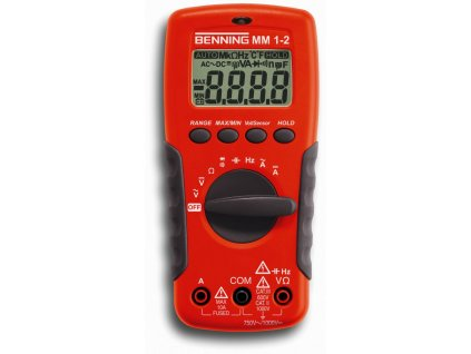 BENNING Multimetr MM 1-2 digitální