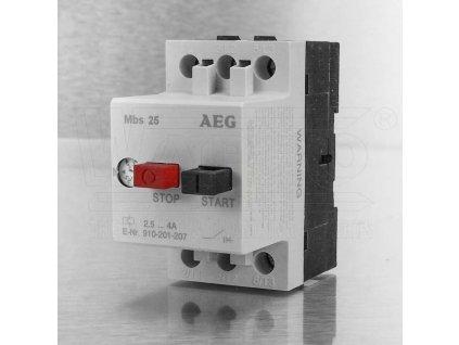 AEG Spouštěč MBS25 2,5-4,0 A motorů