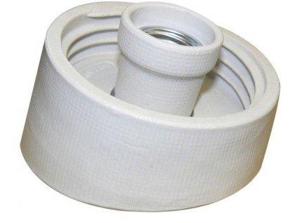 KERAMTECH Svítidlo 5715 60W E27 armatura šikmá porcelán IP20
