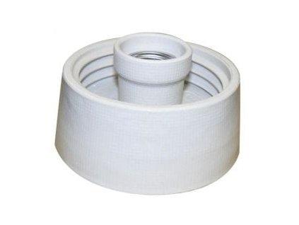 KERAMTECH Svítidlo 5716 60W E27 armatura rovná porcelán IP20