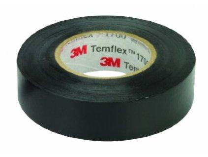 Páska 3M TEMFLEX 015/19/25m černá