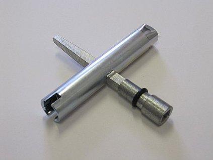 ZUCo Klíč č.11 KOMBI universal kovový (LIDOKOV 01.041)