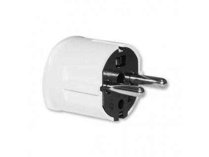 ABB Vidlice 250V/16A sdružená bílá IP20