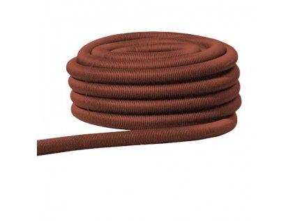 FRÄNKISCHE Trubka ohebná Kabuflex R 50, bezhalogenová, PE-HD, rudá, balení 50m, prodejní jednotka1m