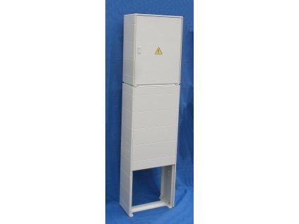 DCK Holoubkov - Elektroměrová skříň ER212/NKP7P v pilíři