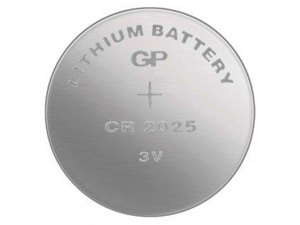 GP Baterie 3V LITHIUM průměr 20x2,5 CR2025