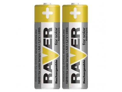 RAVER Baterie SOLAR NiMH AA 600 mAh HR6