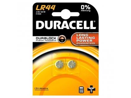 DURACELL Baterie 1,5V LR44 ALKALINE (MJ=ks)