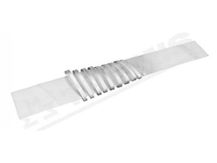 TREMIS Deska ZD 01a zemnící se sv. 2000x250mm, materiál:FeZn